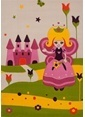 Poypoy Poypoy Prenses Çocuk Halısı 100X150cm Renkli